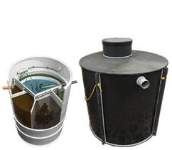 Domácí čistička odpadních vod AQUATEC AT8 + jímka