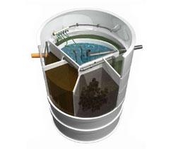 Domácí čistička odpadních vod AQUATEC (MICROCLAR) AT6