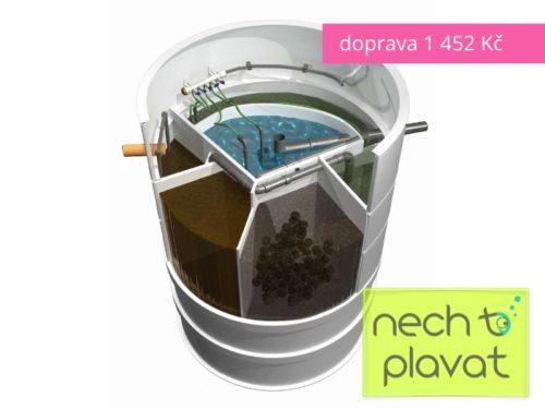Domovní čistička odpadních vod AQUATEC AT (MICROCLAR)