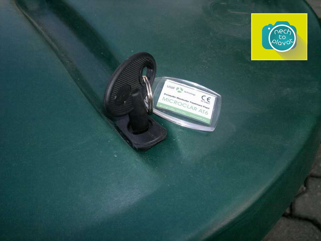 AQUATEC-AT-šachta na dmychadlo se zámkem-klíček