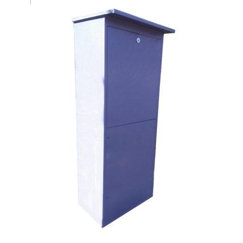 AS-MONOcomp - samostatně stojící plastový pilíř na dmychadlo a řídicí jednotku