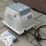 Domácí čistička AS-VARIOcomp - dmychadlo
