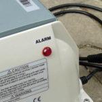 Domácí čistička AS-VARIOcomp - dmychadlo - kontrolka poškození membrán