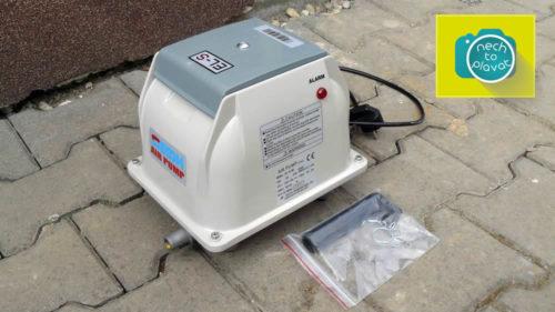 Domácí čistička AS-VARIOcomp - dmychadlo pohled2