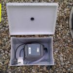 Domácí čistička AS-VARIOcomp - dmychadlo ve skříňce