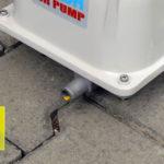 Domácí čistička AS-VARIOcomp - dmychadlo - výstup vzduchu