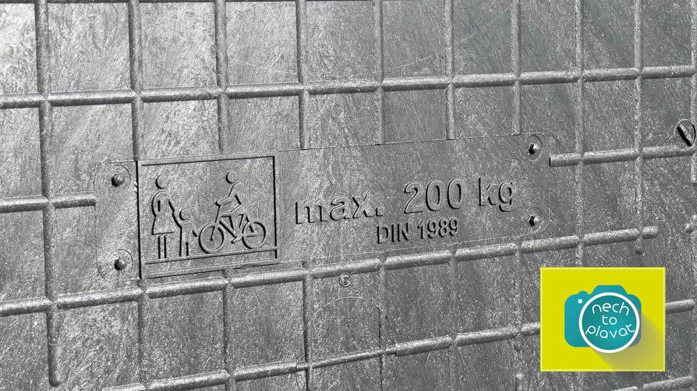 Domácí čistička AS-VARIOcomp - pochůzí poklop - nosnost 200 kg