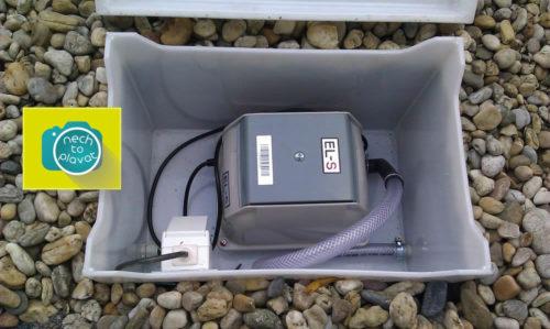 AS-VARIOcomp skříňka na dmychadlo s dmychadlem pohled2