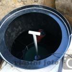 Biologický filtr BF-EK (EKOCIS) - vstupní komínek do biofiltru