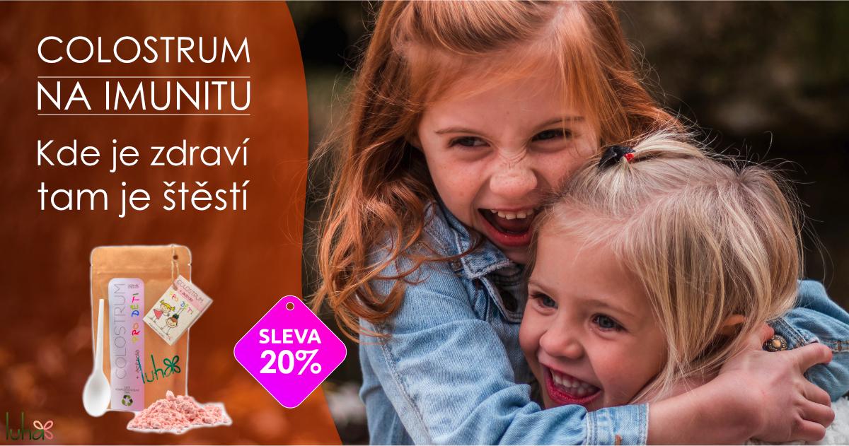 Colostrum pro děti na posílení imunity