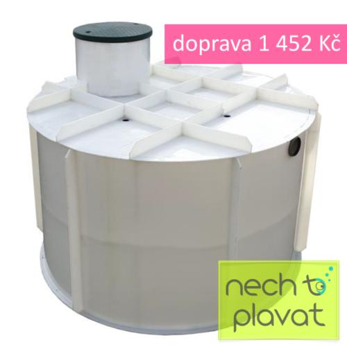 Plastová jímka PPA samonosná