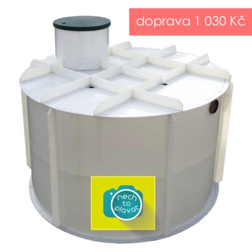 PPA plastová jímka na přečištěnou vodu