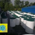 Domovní čistička AQUATEC AT - výrobní sklad2
