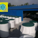 Domovní čistička AQUATEC AT - výrobní sklad3
