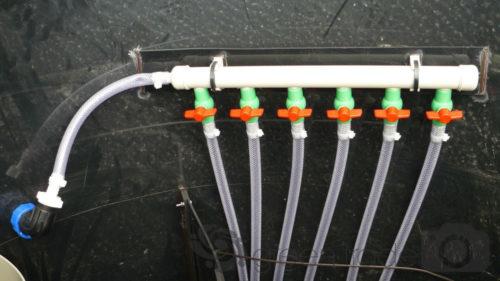 Čistička EKO-NATUR - vzduchový rozdělovač