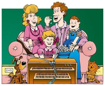 rodina a domácí čistička